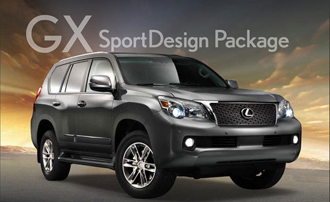 2012 lexus gx 460 sportdesign package released news. Black Bedroom Furniture Sets. Home Design Ideas