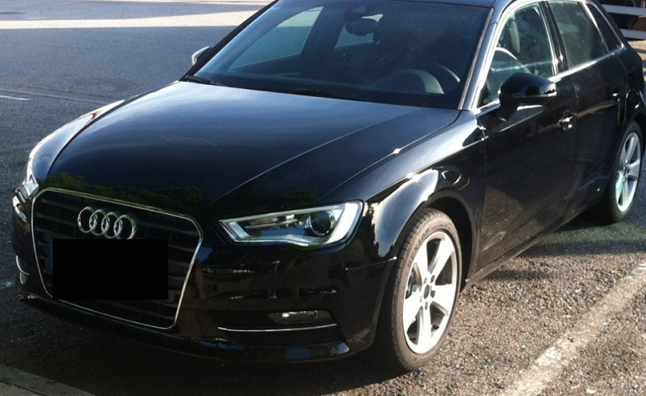 2013 Audi A3 Sportback Caught Testing Spy Photos