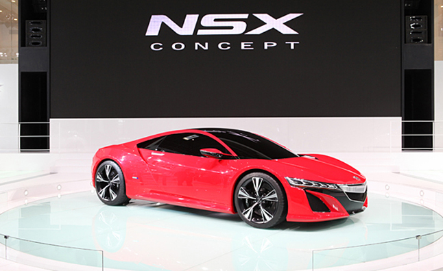 Red Acura Nsx Concept New Photos From Beijing Auto Show
