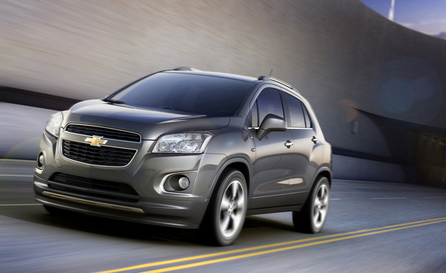 Chevy Small Suv >> Chevrolet Trax Is New Small Suv From Gm Won T Come To Us