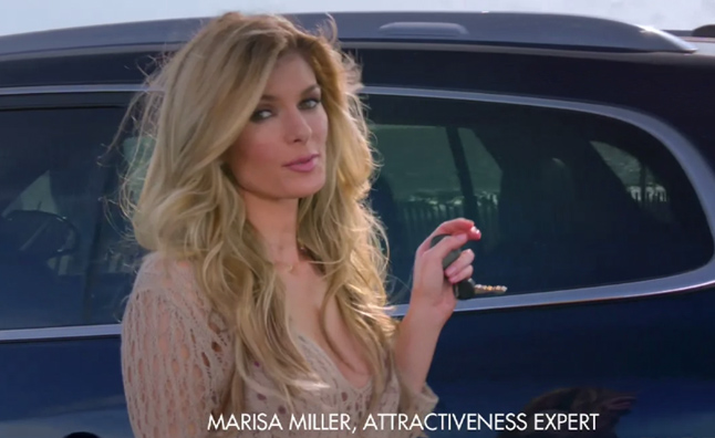 Supermodel Marisa Miller Stars in New Buick Enclave Ad ...