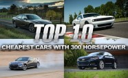 Top 10 Cheapest Cars with 300 Horsepower