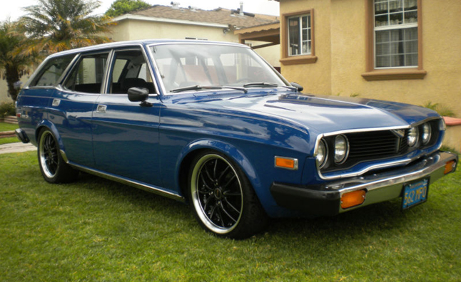 1974 Mazda Rx 4 Is The Rotary Powered Wagon To Lust After
