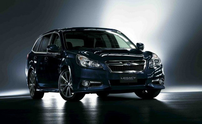 2013 Subaru Legacy Gets 296 Hp Turbocharged 4 Cylinder