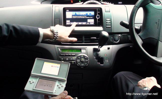 Toyota And Nintendo Convert Ds Game System To In Car Gps