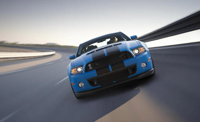 Ford Mustang Gt500 Tests Top Speed At Nardo Ring Video