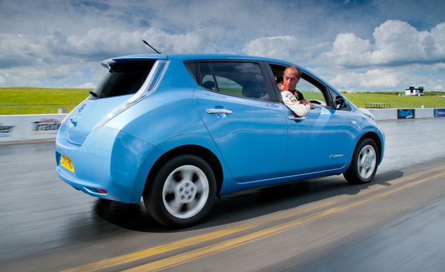 Thanks To Its Electric Drive Train And Direct Transmission System The Nissan Leaf Is Supposed Be Able Go Just As Fast In Reverse It Can
