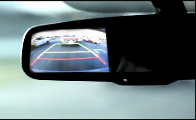 Kia Shows Off Rear View Cameras With Reverse Only Race