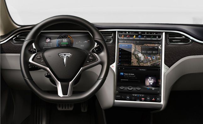 Tesla Model S To Feature New Digital Dashboard 187 Autoguide