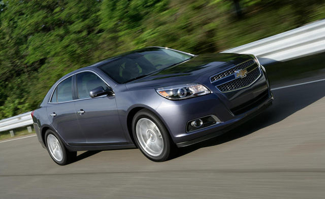 2013 chevy malibu turbo priced from 27 710 autoguide. Black Bedroom Furniture Sets. Home Design Ideas