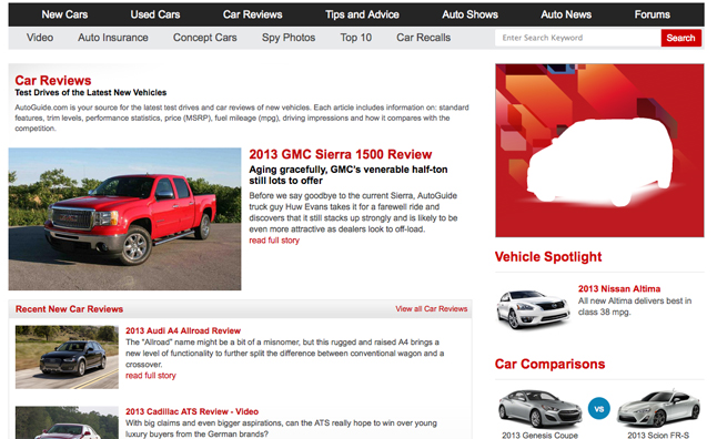 Most Read Car Reviews Of The Week July AutoGuide - Car show website reviews