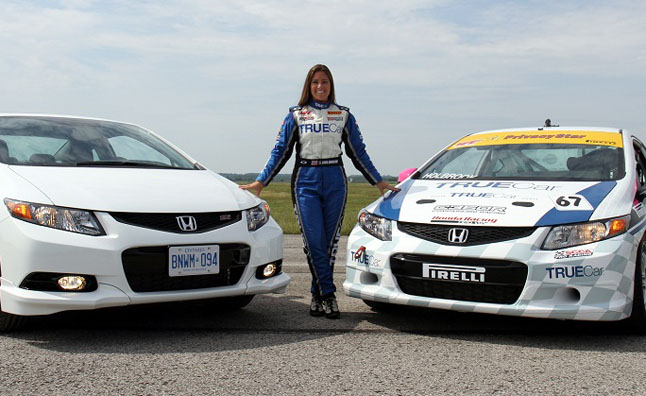 honda s the push shows off civic si hfp  video autoguide   news