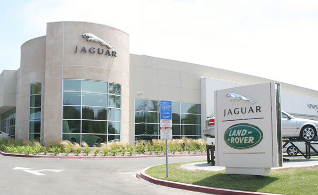 jaguar land rover calling for dealerships to merge together