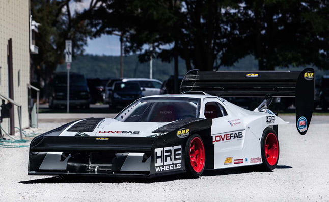 Insane Acura Nsx Pikes Peak Race Car Revealed By Lovefab Videos