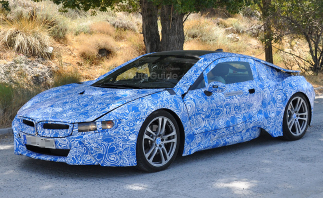 BMW I New Hot Weather Testing Spy Photos Get Up Close - Hot sports cars