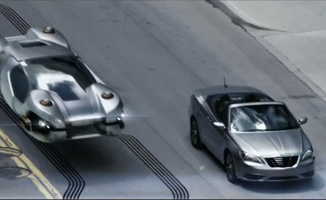 Chrysler 200 Convertible Co-Stars in New Total Recall Ad ...