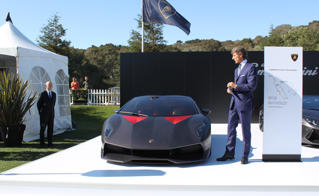 Lamborghini Sesto Elemento On Location At Pebble Beach Autoguide