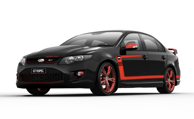 Ford Falcon Fpv Gt Rspec Is Like A 4 Door Boss Mustang