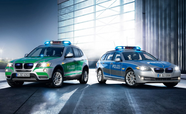 Genial 2013 BMW Police Fleet Unveiled