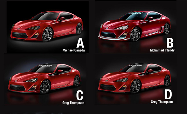 stillen scion fr s body kit contest opens for voting news. Black Bedroom Furniture Sets. Home Design Ideas