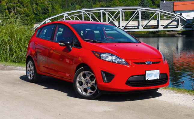 Five-Point Inspection: 2012 Ford Fiesta SES Hatchback ...