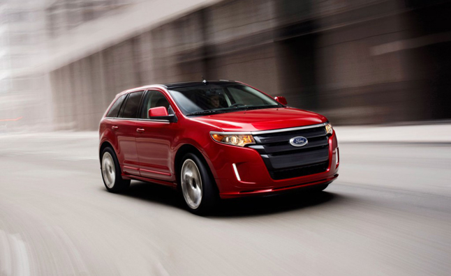 Ford Edge Suvs Recalled For Possible Fire Risk