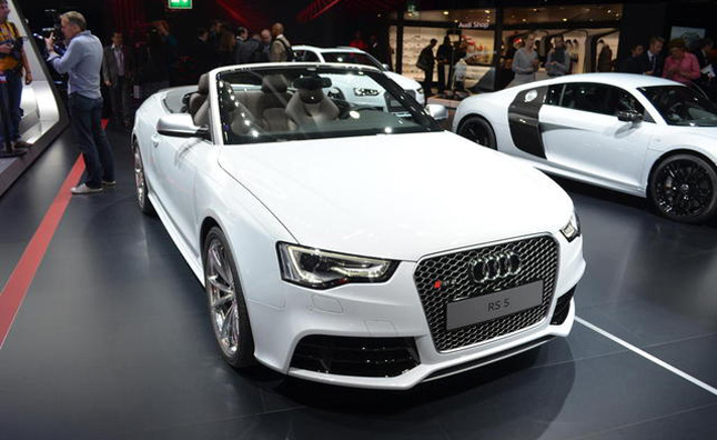 The Audi Rs5 Is Getting A New Drop Top Variant Which Will Be For Here In U S And Convertible Was Just Revealed At 2017 Paris Motor Show