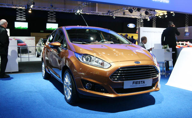 2014 Ford Fiesta Previewed With Aston Martin Grille In Paris Autoguide Com News