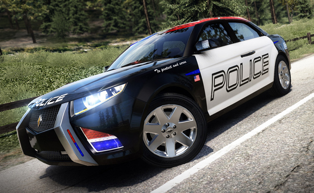 Police Cars Of The Future To Highlight La Auto Show Design