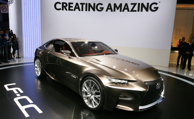 Just Shy Of Confirming It Lexus Has Previewed The Upcoming Gs Coupe At Paris Motor Show Today With Reveal Lf Cc Concept