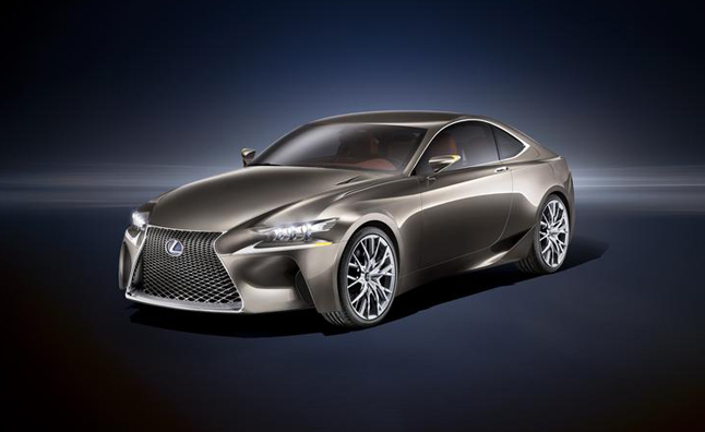 2014 Lexus IS Coupe Previewed in LFCC Concept  Video  AutoGuide