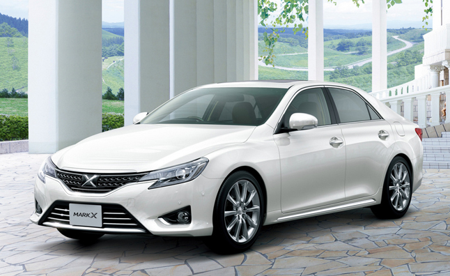 2013 Mark X Revealed As Newest Rear Drive Toyota