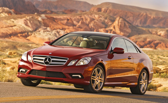 2012 Mercedes EClass Coupe Recalled for Airbag Issue  AutoGuide