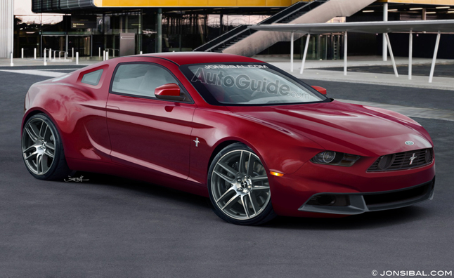 2015 ford mustang rumored with 310 hp four cylinder news. Black Bedroom Furniture Sets. Home Design Ideas