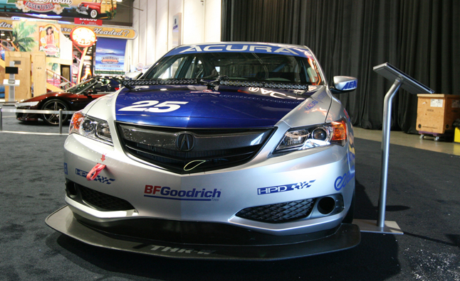 Used Jaguar Xf >> Acura ILX Endurance Racer Video, First Look: 2012 SEMA Show » AutoGuide.com News
