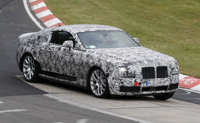 Rolls Royce Ghost Coupe Spied On Nurburgring 187 Autoguide