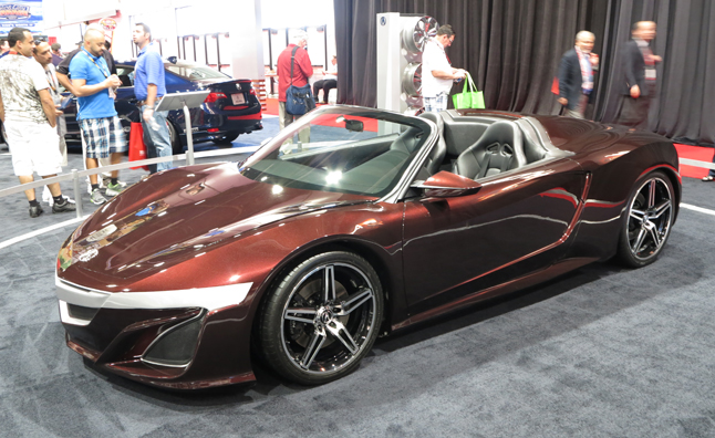Elegant Virtually Seen By Everyone In The World In The Recent Avengers Movie, The  Acura NSX Roadster Concept Makes It Most Recent Public Appearance At The  2012 SEMA ...