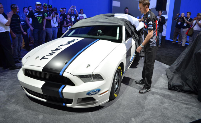 Ford Mustang Cobra Jet Unveiled with TwinTurbo Power 2012 SEMA