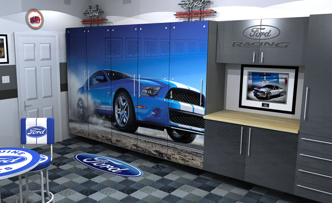 ford dream garage coming to 2012 sema show news. Black Bedroom Furniture Sets. Home Design Ideas