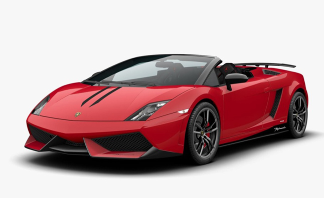 at the 2012 paris motor show lamborghini unveiled its facelifted 2013 gallardo lp560 4 model and now the convertible variant has arrived