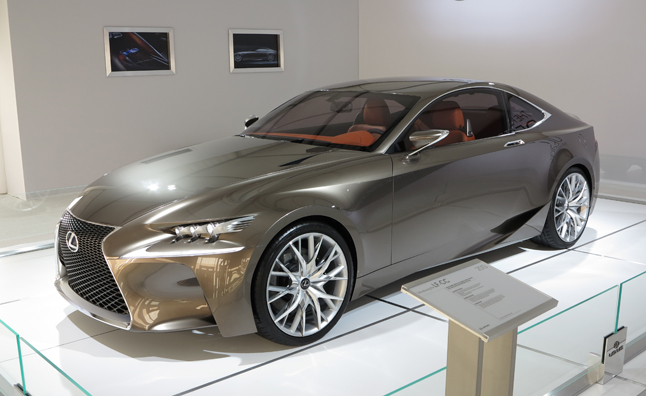 Lexus Lf Cc Concept Previews Future Designs 2017 Sema Show Autoguide News
