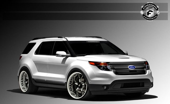 Custom Ford Escapes Explorer Heading To 2012 Sema Show