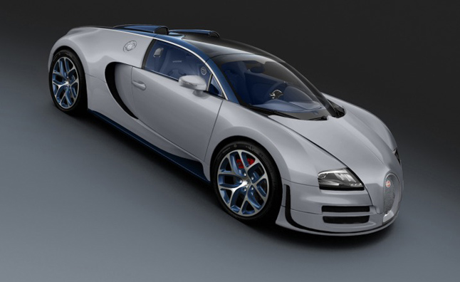 bugatti veyron grand sport vitesse rafale costs 2 5 m. Black Bedroom Furniture Sets. Home Design Ideas