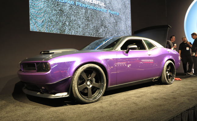 Purple Dodge Challenger Srt Is Nothing To Laugh At 2012