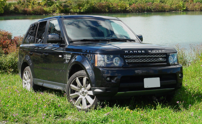 Five Point Inspection 2012 Range Rover Sport Supercharged