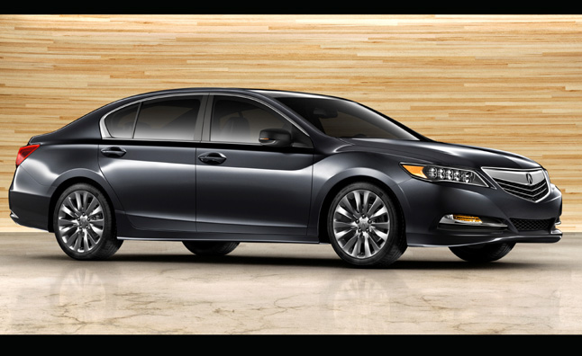 2014 Acura Rlx Is A Full Size Luxury Sedan In A Mid Size