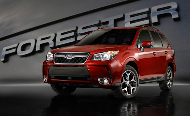 2014 subaru forester to be more efficient than outgoing. Black Bedroom Furniture Sets. Home Design Ideas