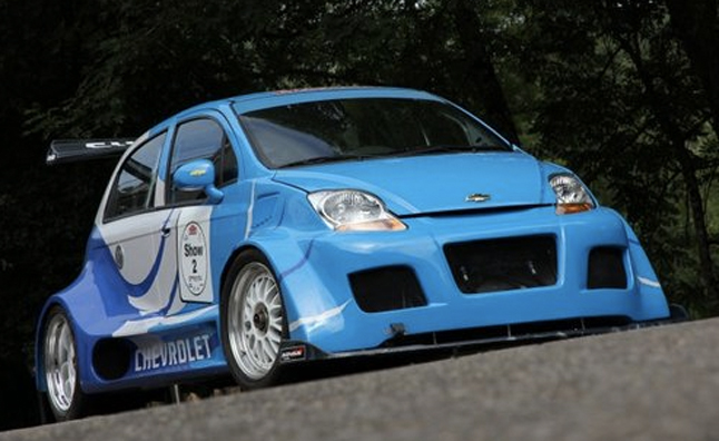 Corvette Powered Chevrolet Spark Is A Hard Core Hot Hatch