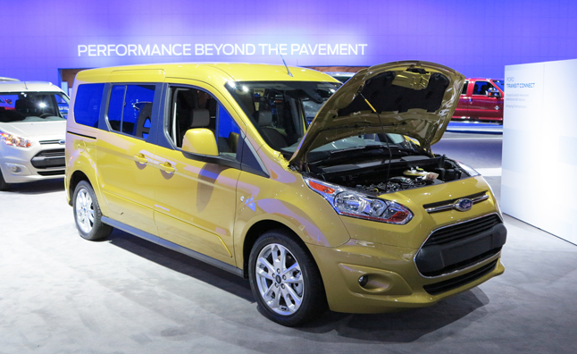 2013 Ford Transit Wagon Is A Minivan For The Budget
