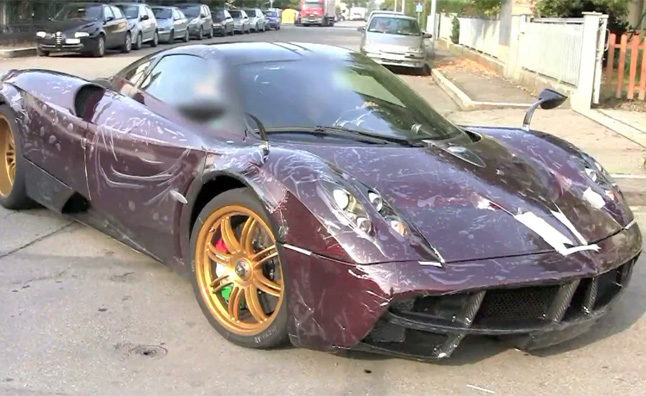 Purple Carbon Pagani Huayra is Too Extreme to Ignore - Video ...